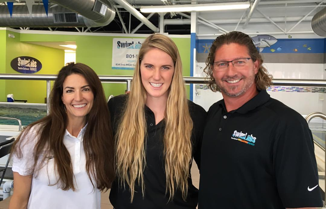 Missy Franklin at SwimLabs in Sandy, UT.jpg