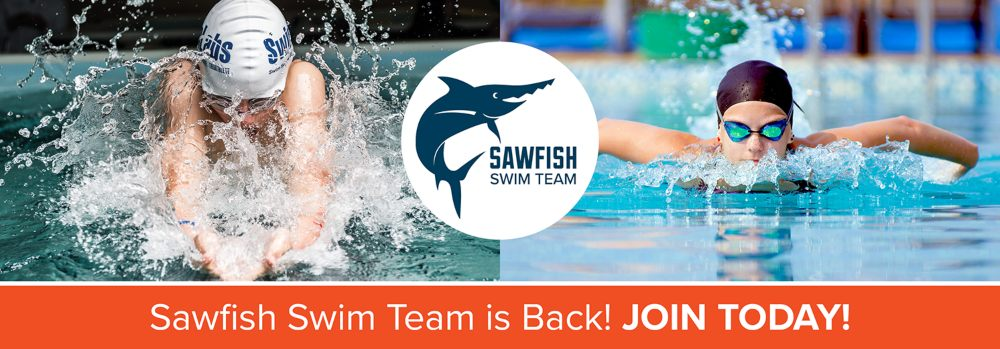 Sawfish Swim Team is Back! Join Today!
